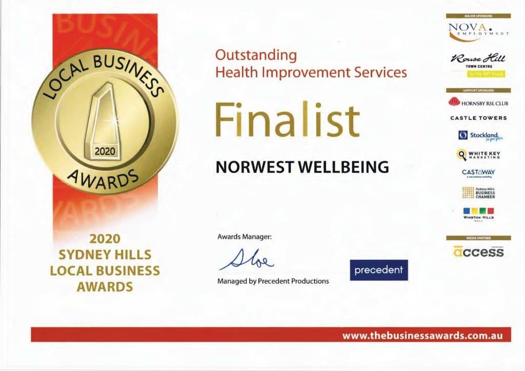 2020 Business awards